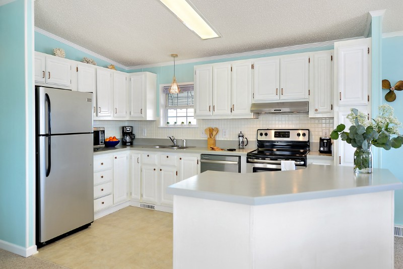 beautifully remodeled ocean city kitchen