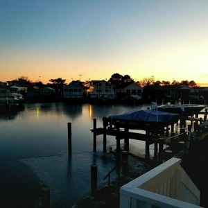 sunset on the bay ocean city maryland vacation rental