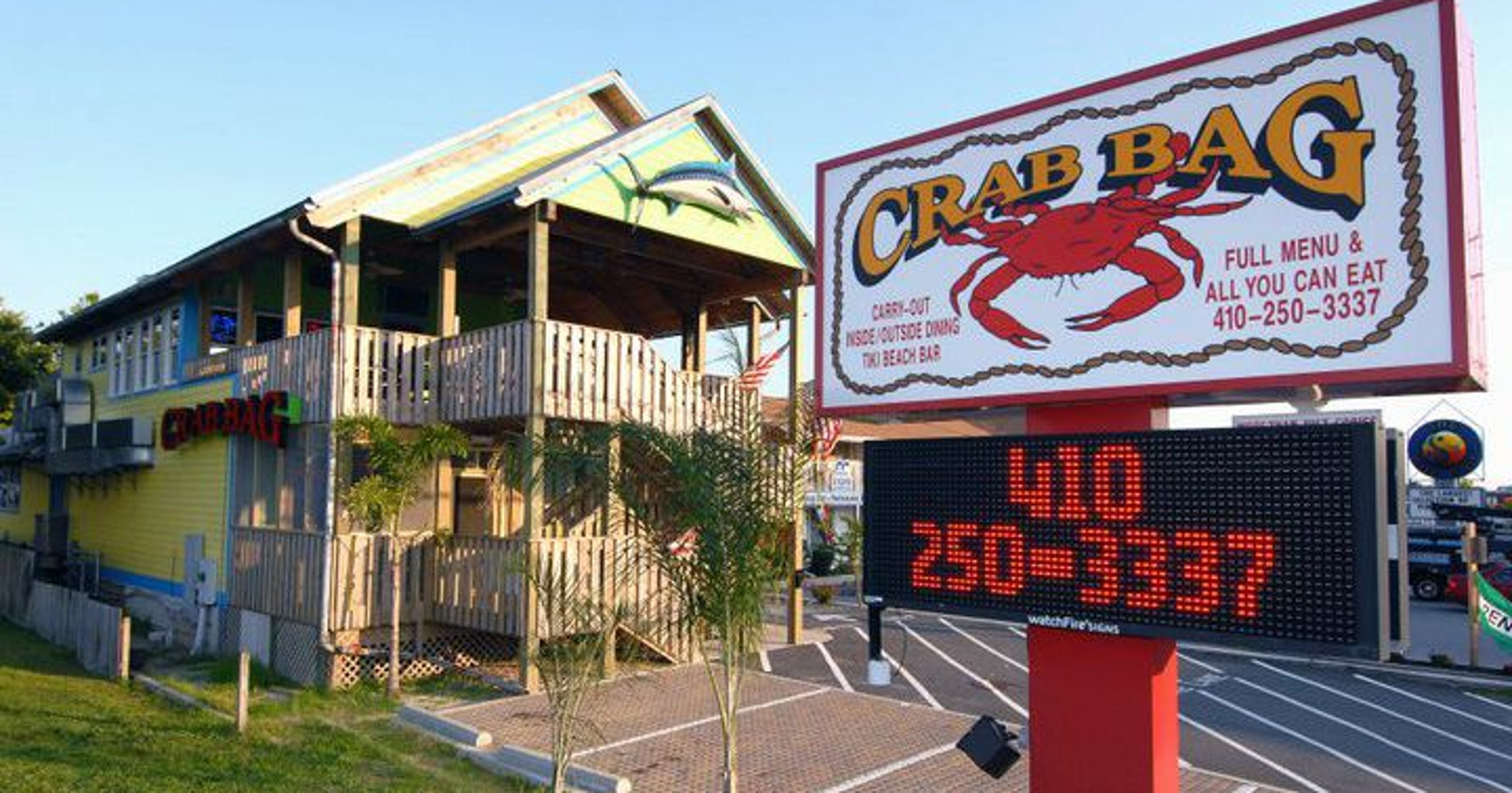 Crab Bag Best All You Can Eat Crabs In Ocean City Maryland