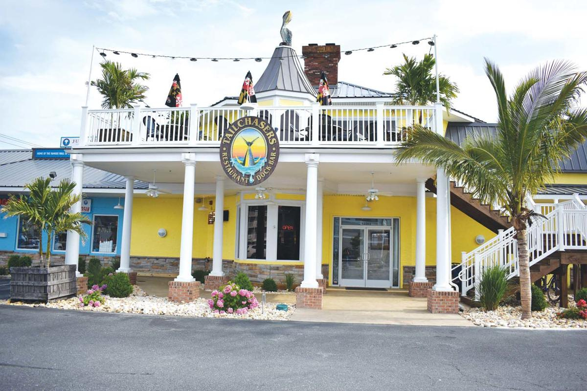 Tailchasers Restaurant & Dock Bar Experience in Ocean City, Maryland by Mad Men Vacation Rentals