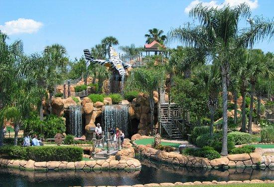 miniature golf central Florida vacation activities