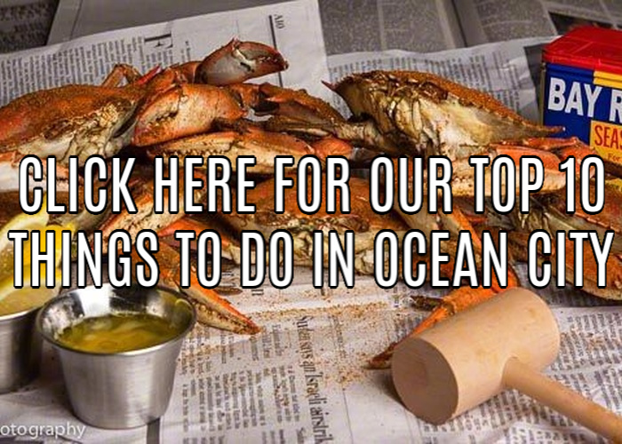 Ocean City Maryland Top 10 Things to do: Crab Feast