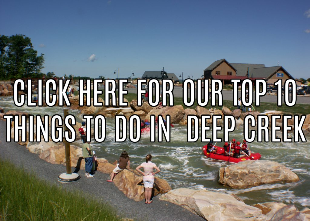 Our Deep Creek 10 things to do