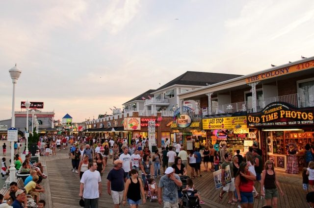 Ocean City Boardwalk Vacation Rental
