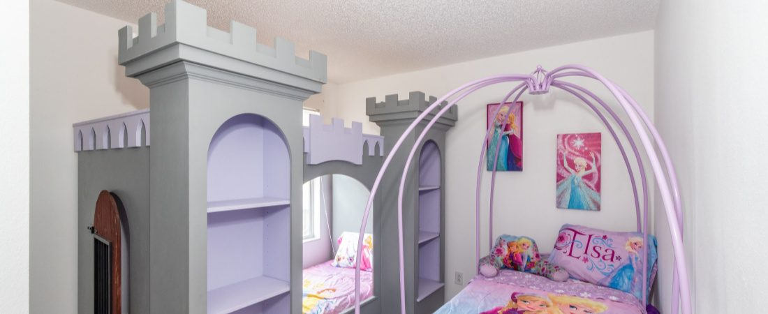 Disney World short term rental princess room